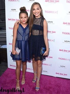 """Maddie Ziegler at the """"Teen Choice Awards Pre Party 2016"""" [FOLLOW: @dmgallery1]"""