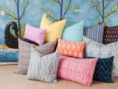Add an Indian pillow - John Robshaw we love!!