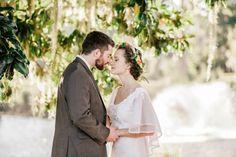 Bride and groom pose together, Indigo Run Clubhouse, Hilton Head, South Carolina Kate Timbers Photography. http://katetimbers.com #katetimbersphotography // Charleston Photography // Inspiration