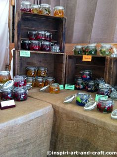 display ideas for craft show booth | Candle Displays - Photos to Inspire Your Own Craft Booth Design