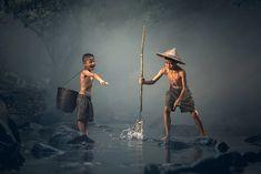 Kinder, Fischerei, Die Aktivität