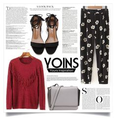 """YOINS #21"" by virgamaleva ❤ liked on Polyvore featuring Kendall + Kylie, McGinn, Balmain, GetTheLook, yoins, yoinscollection and loveyoins"
