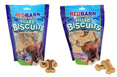 Redbarn Chewy Louie Beef Filled Dog Biscuits 14 oz and Redbarn Chewy Louie Peanut Butter Filled Dog Biscuits 14 oz ** More info could be found at the image url.