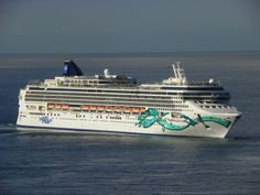 Norwegian Jade, our home on the high seas for 7 nights :-)