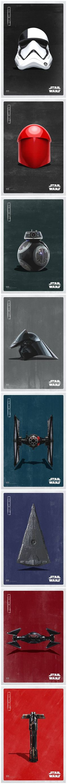 Official Star Wars: The Last Jedi 'Dark Side' posters
