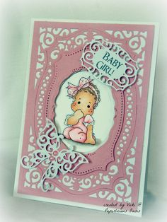 paperlicious oasis: Baby Cards with Spellbinders Majestic Labels 25
