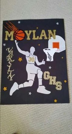 Sport basketball poster locker decorations ideas for 2020 Basketball Signs, Basketball Decorations, Sports Signs, Basketball Posters, Locker Decorations, High School Basketball, Sports Basketball, Basketball Girlfriend, Basketball Quotes