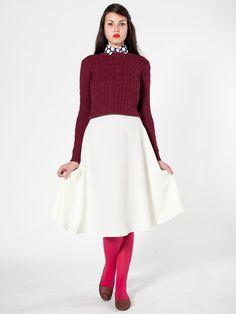 American Apparel - Mid-Length Circle Skirt