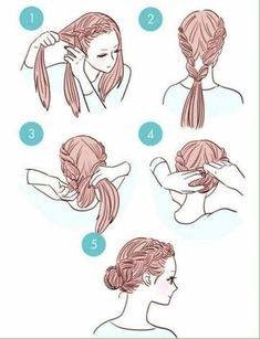Simple way to make our hair everyday ❤