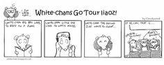 White-chans Go Tour Liaoz comics #2