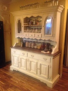 ArtbyJulieBledsoe Hand Painted Pennsylvania House Hutch From