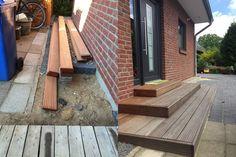 Aus dem bisschen Holz wird ein Eingangsbereich
