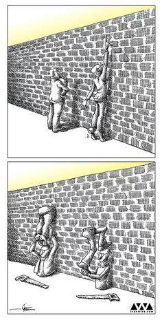 100 Anti-System Caricatures from Exiled Iranian Cartoonist Mana Neyestani - Nursery Ideas