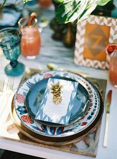 centros de mesa piñas ideas decoracion (8)