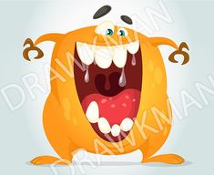 Troll or gremlin with big smiling mouth clipart illustration Zip archive includes: JPEG VECTOR VECTOR (AI) PNG Purchased files contain no watermarks Cartoon Monsters, Cartoon Characters, Fictional Characters, Happy Cartoon, Gremlins, Troll, Scream, Clip Art
