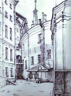 Mstislav Dobuzhinsky -