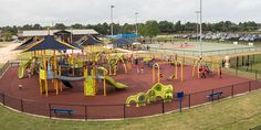 Featured Playground - The Miracle League at the Langham Creek YMCA - Houston, Texas