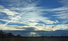 Love the contrails in this New Mexico sky.