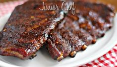 Mustard Rubbed Baby BBQ Ribs On The Grill, Wow what a way to have your dinner with juicy rack of ribs simply perfect night out food, Ingredients used are Baby Back spareribs slab, Beef short ribs, Char Coal or Hickory chunks or Wood Chips, Dry Rub Used In BBQing Any Food, Barbecue Glaze Sauce http://www.juniorchef.in/mustard-rubbed-baby-bbq-ribs-on-the-grill/