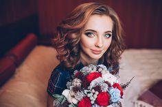 Bridal portrait by Tanya Mochalova