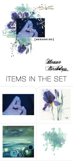 """F E L I Z · C U M P L E A Ñ O S · B O N I T A ·"" by lildreamer ❤ liked on Polyvore featuring art"