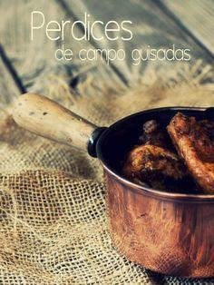 Con buenos ingredientes el resultado final de un guiso, siempre es un delicioso bocado. En este caso, unas sabrosas perdices. PERDI...