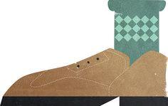 Brogue Shoe Illustration