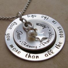 More Than All The Stars in The Sky Personalized Necklace