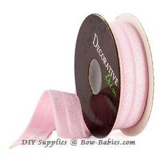 "Elastic for Headbands - Pink 5/8"" - 4 Yards $3 - DIY Supplies – Bow-Babies.com"
