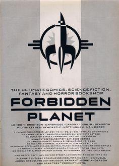 Forbidden Planet.