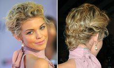 Penteado para cabelo cacheado: copie 6 opções da atriz AnnaLynne McCord | MdeMulher