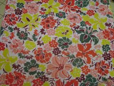 Feedsack Quilting Fabric Vintage Fabric by pinkcozycottage on Etsy