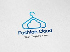Cloud Fashion - Logo Template by Martin-Jamez on Creative Market