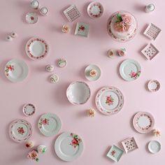 English Home Porcelain Collection I Pastel Inspiration