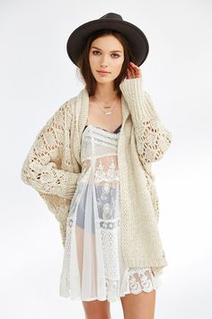 Kimchi Blue Cozy Carnival Cardigan - Urban Outfitters