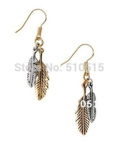 Weeping Angel NightElf Leaf Night Elves Earring