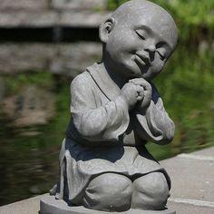 Shaolin Monnik Tuinbeeld