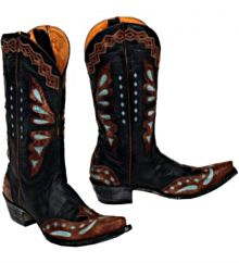 Old Gringo Monarca Black Boots L026-36 available at Cowboy Boots Nc. http://www.cowboybootsnc.com/old-gringo-monarca-black-boots-l026-36/