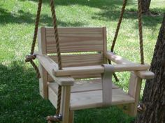 Wooden Toddler Swing - Handmade Christmas