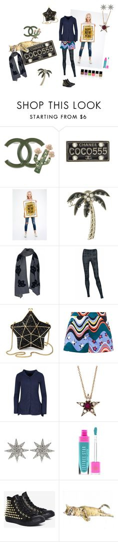 """""""Coco"""" by karen-style ❤ liked on Polyvore featuring Chanel, Rundholz, Aspinal of London, M Missoni, Selim Mouzannar, Bee Goddess, Jeffree Star and Converse"""