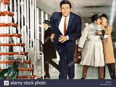 Download this stock image: Jack Lord Director Joseph Lejtes - B82GJ9 from Alamy's library of millions of high resolution stock photos, illustrations and vectors.