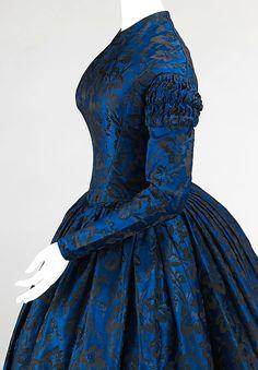 Evening dress (American)   1850-52   MET