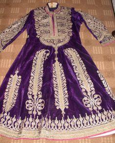 ANTIQUE AFGANISTAN ETHNIC EMBROIDERED DRESS VERY FINE WORK
