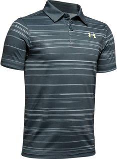 Under Armour Boys' Tour Tips Striped Polo Shirt - Big Kid Kids - Bloomingdale's Green Polo Shirts, Striped Polo Shirt, Golf Polo Shirts, Tartan Men, Guys And Girls, Boys, Steampunk Men, Dress With Boots, Bunker