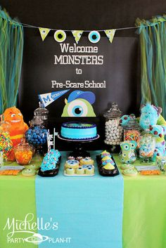 """Photo 1 of 59: monsters university / Back to School """"Monsters University Pre-Scare School"""""""