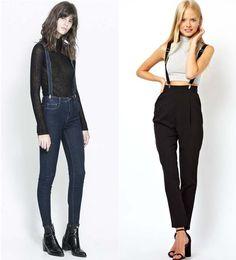 11 Ideas De Pantalon Con Tirantes Pantalones Con Tirantes Tirantes Ropa