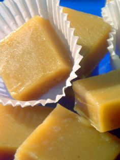 honey lavender caramels. I haven't been tempted with caramel making in the least, but Vera sent me some of these that she made, only with 3t of earl grey tea rather than the lavender called for here, and they were A-MA-ZING. Amazing.