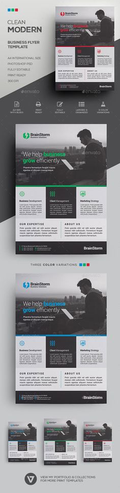 Corporate Flyer Template Flyer template - corporate flyer template