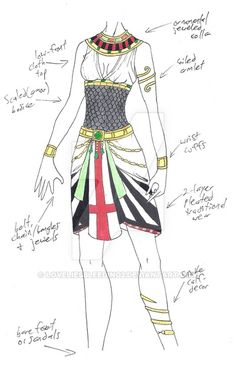 MHcd - World Serpent by on DeviantArt Clothing Sketches, Dress Sketches, Manga Clothes, Drawing Clothes, Character Costumes, Character Outfits, World Serpent, Costume Carnaval, Dress Drawing