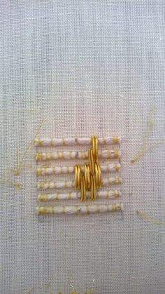 Goldwork embroidery | technique